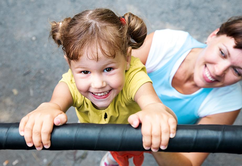 פעילות גופנית לילדים- גן שעשועים או חדר כושר?