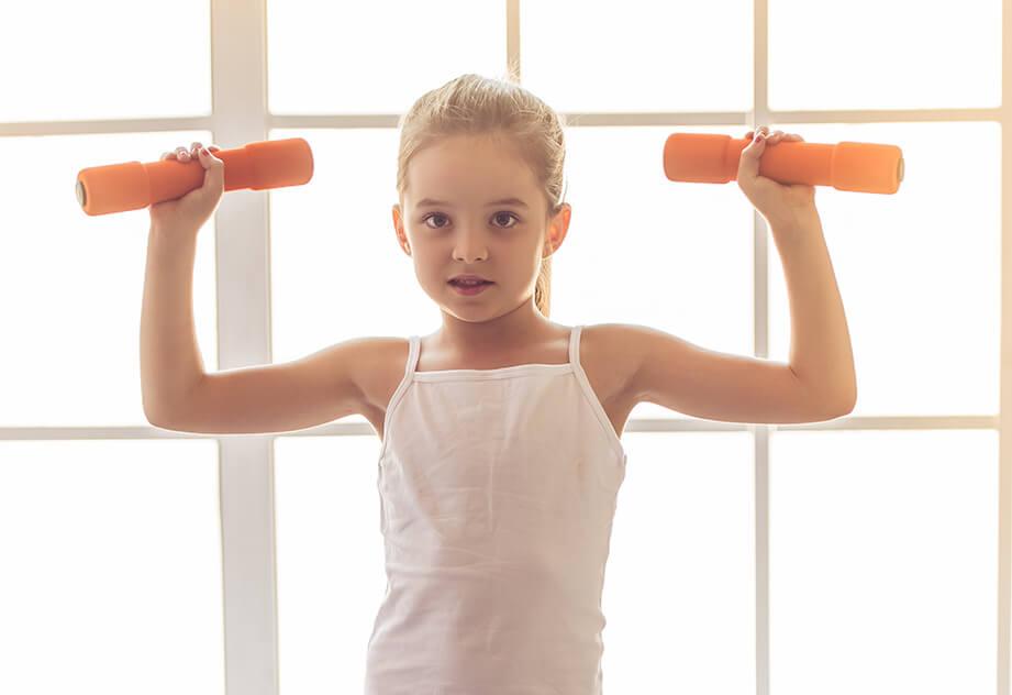 חשיבות אימוני הכוח אצל ילדים