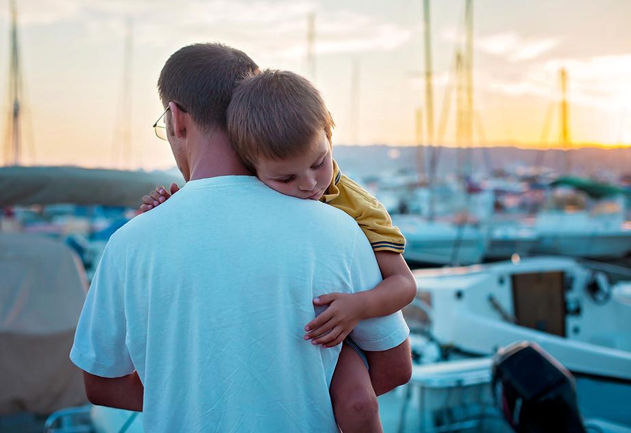למה קל יותר לשאת ילד ער מאשר ילד ישן?