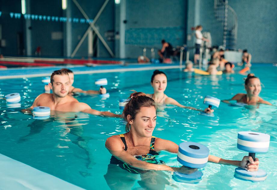 אימון במים- לא רק לגיל השלישי