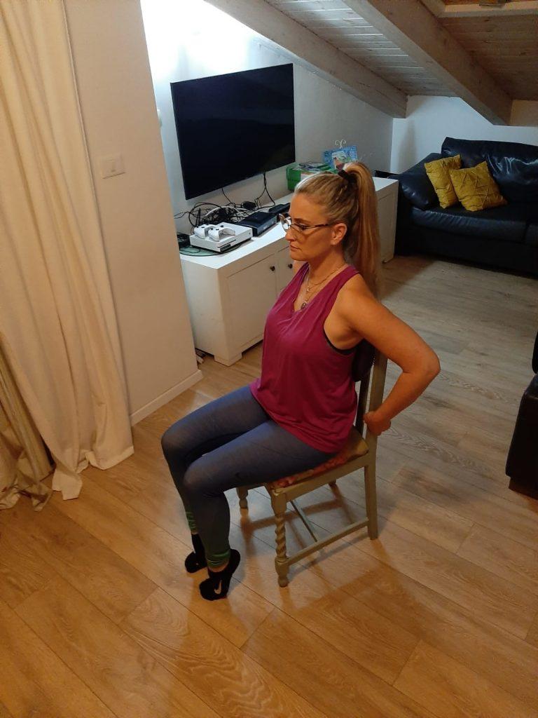 ישיבה נכונה על כיסא